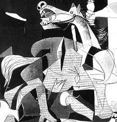 Pablo Picasso - Guernica detail Picasso Guernica, Pablo Picasso, Cubist Movement, Picasso Paintings, Cowboy Art, Museum Of Modern Art, Beauty Art, Contemporary Paintings, Street Art