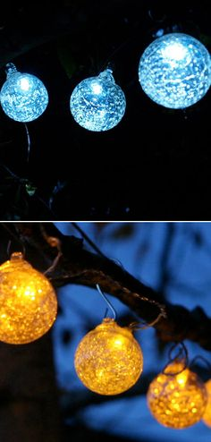 Solar Powered String Lights Patio Solar powered string lights globe string lights solar and decking solar string lights perfect workwithnaturefo