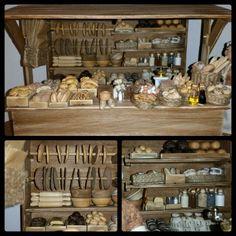 Margots new market stall I made of Biltemas trästickor