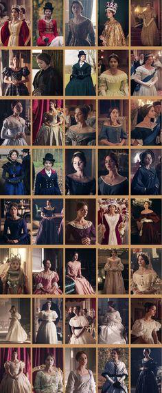 Victoria's costumes.