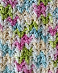 Maggie's Crochet · Stitch Repeat V-Stitch - Free Crochet Pattern