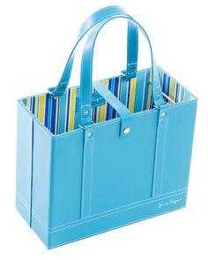 Aqua-Coupon-File-Tote-Organizer-Bag