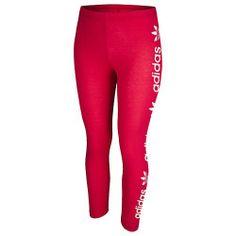 donne nero piccolo adidas trifoglio leggings pantaloni spandex originali