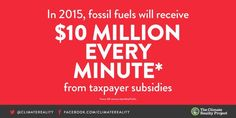Fossil fuel companies get $10M in subsidies every minute. Tell #G7 leaders it's time for #ClimateAction http://oxf.am/ZALM