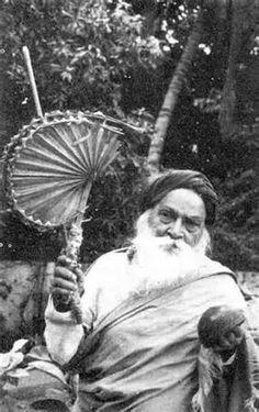 Yogi Ram Surat Kumar -- a wandering saint who finally came to stay in Tiruvannamalai in Tamil Nadu. His guru was Papa Ramdas.