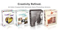 Creativity Refined-Michelle Kane Photoshop Actions