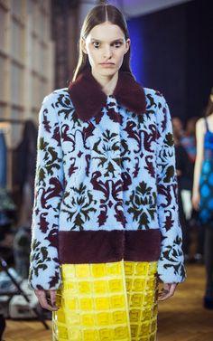 Mary Katrantzou Fall/Winter 2015 Trunkshow Backstage on Moda Operandi