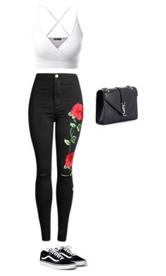"""""""Untitled #675"""" by maritzawaffles on Polyvore featuring Doublju and Yves Saint Laurent"""