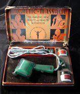 """Magnetic Massage"", Son-Chief Electronics, Inc., circa 1930  #Good #Vibrations #Vibrators #Antique #Vintage #Museum #San #Francisco"