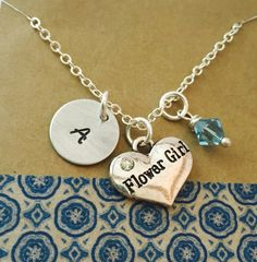 Hey, I found this really awesome Etsy listing at https://www.etsy.com/listing/236080459/hand-stamped-flower-girl-necklace-flower