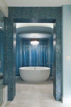 eclectic bathroom by Fenwick & Company Interior Design