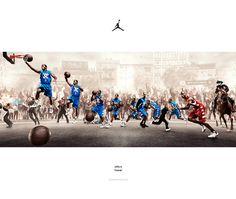 Nike Jordan Brand - Quickness Revealed (2011) by Greg Liburd, via Behance