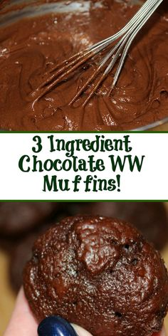 Low calorie recipes 103301385190784836 - This easy 3 Ingredient Chocolate Weight Watchers Muffins Recipe is a perfect small treat! Satisfy your chocolate craving with a low Smartpoint muffin. Source by CookEatGo Weight Watchers Snacks, Muffins Weight Watchers, Petit Déjeuner Weight Watcher, Plats Weight Watchers, Weight Watchers Meal Plans, Weight Watcher Desserts, Weight Watchers Breakfast, Weigh Watchers, Ww Recipes