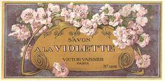 free printable paris perfume labels | Found on ebay.com