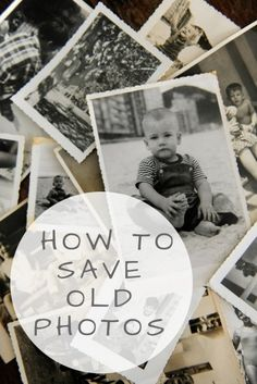 Maintaining Memories: How to Save Old Photographs Maintaining Memories: How to Save Old Photographs