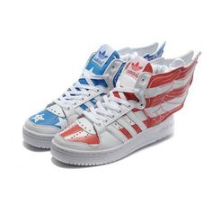 online store 6ca07 088aa Femmes adidas Originals Jeremy Scott Wings 2.0 US Air Flag 106,86 € http