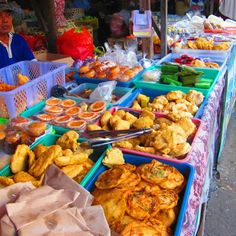 Street Food - Balinese Food Stall   - Explore the World with Travel Nerd Nici, one Country at a Time. http://TravelNerdNici.com