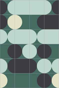 Les carreaux de ciment a motifs : Carreaux Pill Cocktail, India Mahdavi (Bisazza)