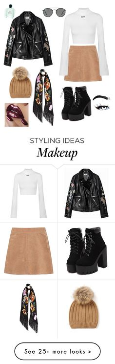 """""""Tooo Coool xox"""" by zarasax on Polyvore featuring See by Chloé, Off-White, Ray-Ban and Rockins"""