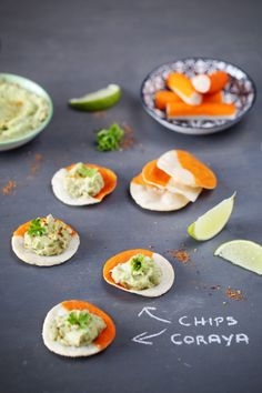 Chips de Coraya – guacamole