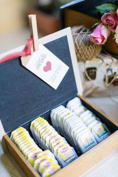 Kitchen tea - 'love is brewing' so cute!