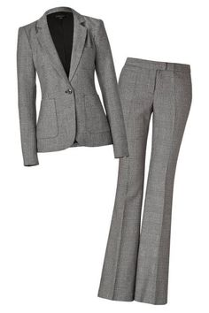 When you're looking for a great interview suit, look for neutral colors like grey.