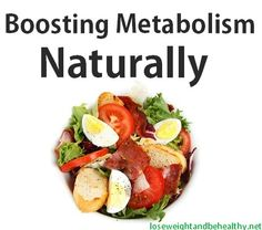 Boosting Metabolism Naturally Skinny Minnie, Healthy Eating, Boost Metabolism, Metabolism Nature, Healthy Lifestyle, Cleaning Food, Healthy Food, Weights Loss, Loss Motivation