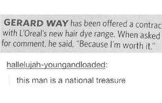I wish he was my national treasure
