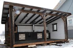 Pihakeittiö? idealla katettu, osin avoin ja riittävsti tilaa? Avon, Loft, Yard, Cottage, Album, Furniture, Home Decor, Patio, Decoration Home