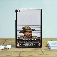 indiana jones mugshot iPad Mini 2 Case Dewantary