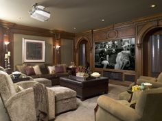 home theater design by sfa design