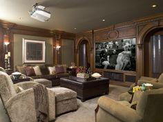 home theater design by sfa design
