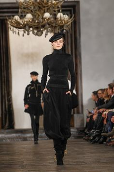 Ralph Lauren Fall 2013 Ready-to-Wear Collection on Style.com: Atmosphere