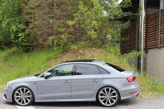 Nardo Grey Audi A3 Limosine