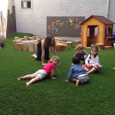 Tot Yoga with Molly #normanandjulesbackyard