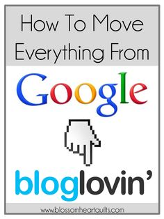 July 1st marks the closure of Google Reader and it's now time to make the move to Bloglovin' if you haven't already! Today I'm sharing everything need to know about Bloglovin'! How to import your Google Reader blogs to Bloglovin', how to claim your blog on Bloglovin', how to add a Bloglovin' button to your …