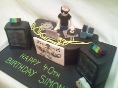 DJ Cake Ideas | DJ Cake