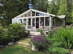 VRBO.com #720819 - Relaxing Waterfront Cabin - Private Beach and Hot Tub with a View!