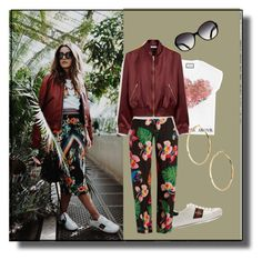 """""""Tropical"""" by ec300 ❤ liked on Polyvore featuring Gucci, Valentino, Mulberry and GUESS by Marciano"""