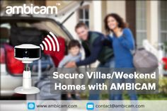 Monitor your baby with Ambicam Home Monitor, Baby Monitor, Cctv Surveillance, Wireless Security, Use Case, Villas, Cameras, Homes, Houses