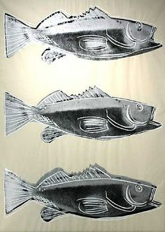 Andy Warhol: Fish Wallpaper
