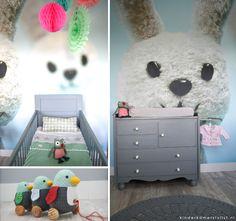 Kleurrijke #neutrale babykamer | Binnenkijker kinderkamerstylist