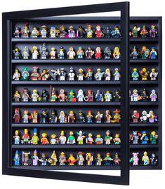 LEGO set database: The ultimate minifigure display solution Lego Sets, Legos, Mini Figure Display, Lego Hacks, Lego Frame, Figurine Lego, Lego Minifigure Display, Lego Bedroom, Frame Display