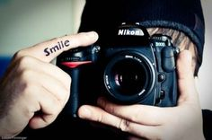 Great tattoo for a photographer #smile