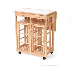 3' Portable Rolling Kitchen Cart with Space Saving Drop L... https://www.amazon.com/dp/B01CGN9OIC/ref=cm_sw_r_pi_dp_x_bvIbybDHE3J06