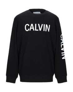 Calvin Klein Jeans Sweatshirt In Black Calvin Klein Jeans, French Terry, Sweatshirts, Long Sleeve, Casual, Sleeves, Sweaters, Shopping, Clothes