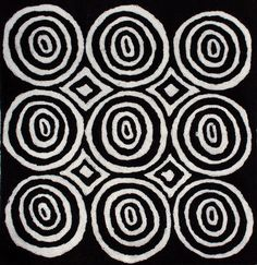 Aboriginal art Design 914 Tjinkuma Wells cushion cover