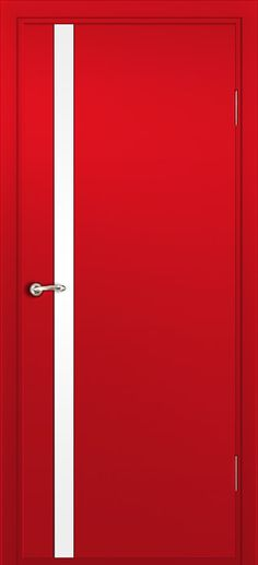 Milano 340 Red Laminate modern interior door by Milano Doors
