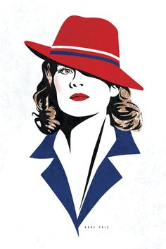 Peggy Carter by ratscape.deviantart.com on @DeviantArt:<<< Also what do you guys think of my new icon/name?