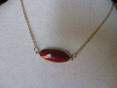 What woman doesn't need a ruby in their jewelry box?  This raw oval ruby is the perfect way to make it an affordable option.  $25 and you will never take it off since it layers with anything.  www.specialadesigns.com